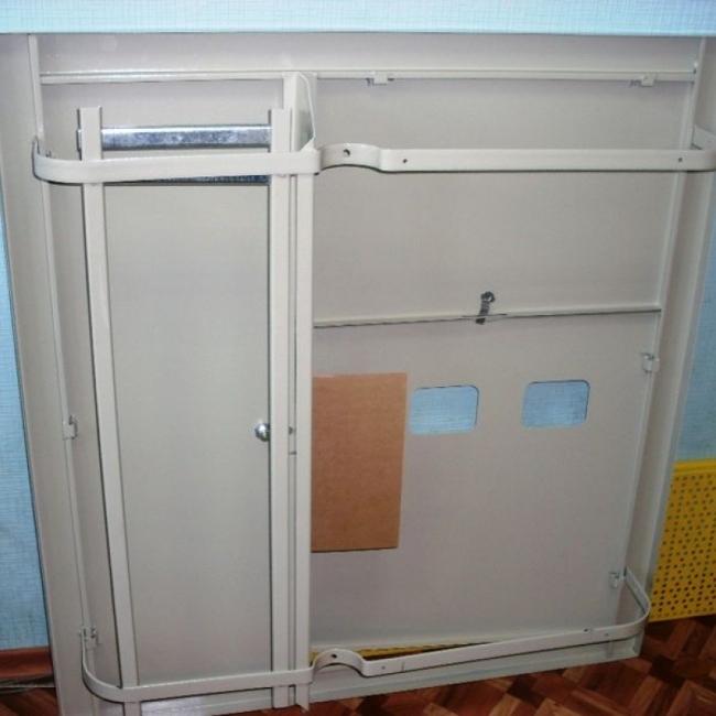 Щит этажный 3 дверцы