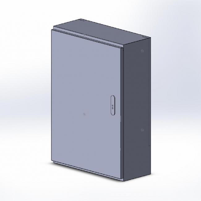 Шкаф опорный почтовый