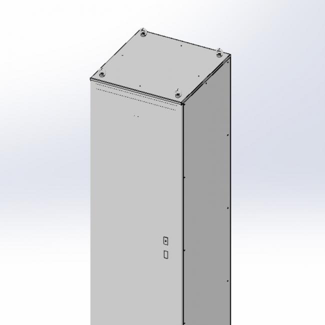 Шкаф напольный электрический (сборно-разборный)