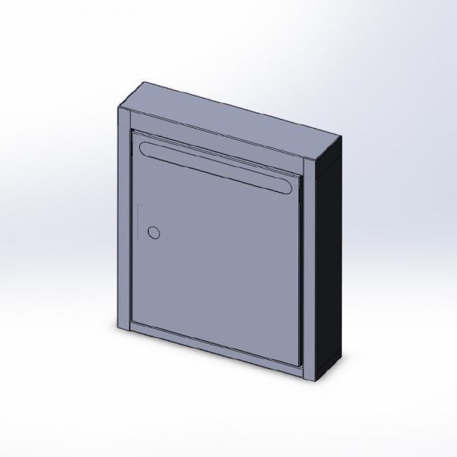 Ящик почтовый индивидуальный